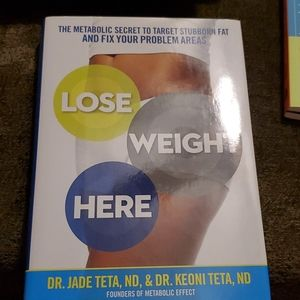 NEW Lose Weight Here Book